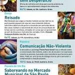 Flávia Fassi Samel, facilitadora do Guerreiros Sem Armas, fala sobre Comunicação Não-Violenta no Sesc Santos