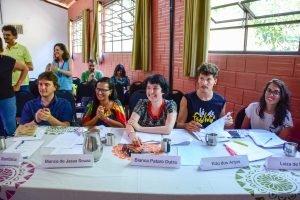 Banca avaliadora do Projeto Futuro do Rio Doce em 2019