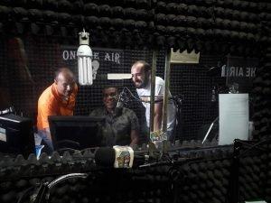 Jovens do projeto Futuro do Rio Doce em entrevista na Radio Capital em 2019