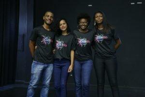 apresentação do grupo CultBio no projeto Futuro do Rio Doce