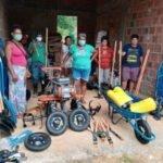 Rede Elos apoia horta comunitária no Quilombo Rio dos Macacos